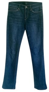 JOE'S Classic Mini Bootcut Raw Hem Straight Leg Jeans-Dark Rinse