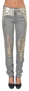 Just Cavalli Straight Leg Jeans-Medium Wash