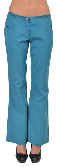 Just Cavalli Boot Cut Pants Blue