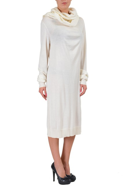 Maison Margiela short dress Ivory on Tradesy