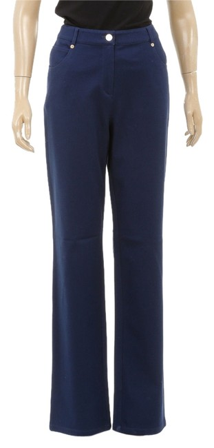 St. John Straight Pants Blue
