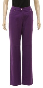 St. John Skinny Pants Purple