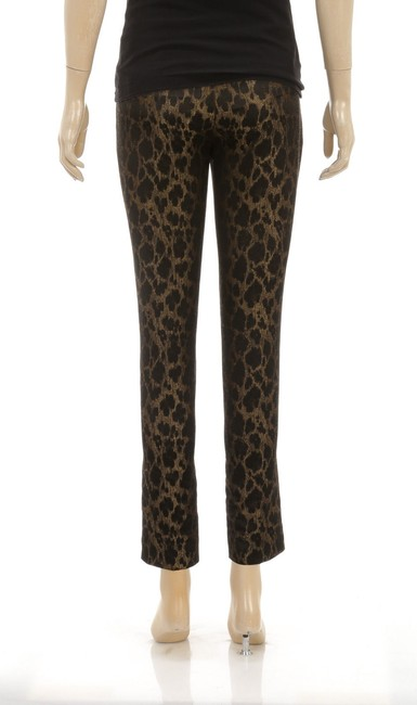 Elie Tahari Straight Pants Brown