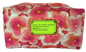 Marc by Marc Jacobs Marc By Marc Jacobs Cosmetic Case in Knockout Pink New Larger Size