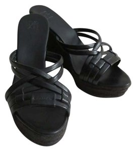 New York & Company Black Wedges