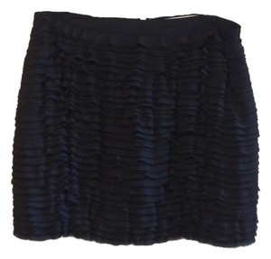 Michael Kors Ruffle Ruffle Ruffle Mini Skirt Black