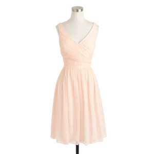 J.Crew Soft Peach Heidi - Short Dress