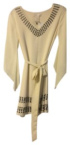 MM Couture short dress Ivory Tunic on Tradesy