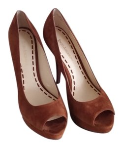 Enzo Angiolini Tobacco Brown Pumps