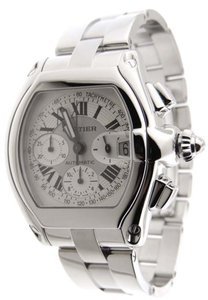 Cartier Cartier Roadster 2618 Chronograph XL Stainless Steel Automatic Date Watch