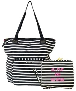 Kate Spade Packable Tote Black/White Travel Bag