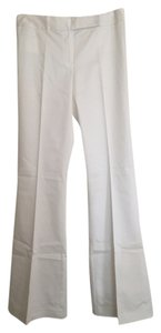 Tahari Classic Boot Cut Pants White