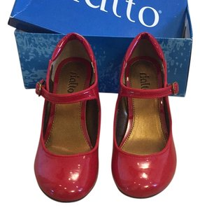 Rialto Red Patent Wedges