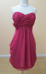 Eden Raspberry 7347 Dress