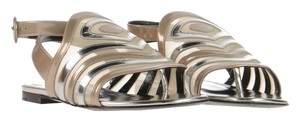Pierre Hardy Silver/Bronze Sandals