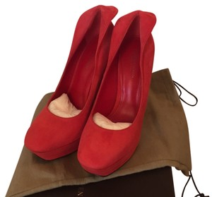 Bottega Veneta Red Pumps