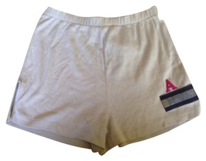 Adolfo The Letter A Slits Gray Shorts