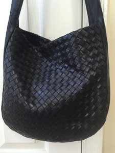 Bottega Veneta Woven Intreacciato Thick Strap Shoulder Bag