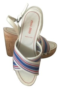 Miu Miu Multi Color Wedges