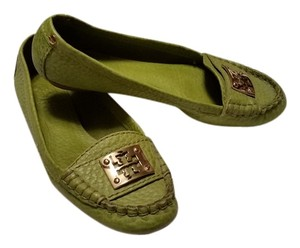 Tory Burch Avocado Green Flats