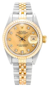 Rolex ROLEX DATEJUST DIAMOND DIAL LAIDES WATCH