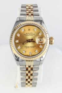 Rolex Datejust Diamond Dial Watch