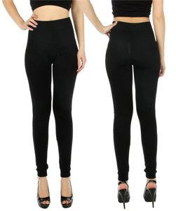 Kimberly C High Waist High Waisted High Waist C Thermal Fleece Thermal Fleece Black Leggings