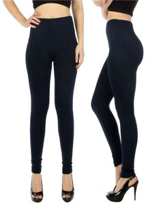 Kimberly C High Waist High Waisted High Waist C Thermal Fleece Thermal Fleece Navy Blue Leggings