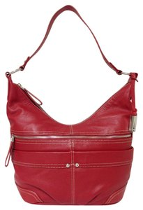 Ellen Tracy Leather Shoulder Bag