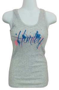 Hurley T-shirt Racerback Sleeveless Xl New Without Tags Top Gray