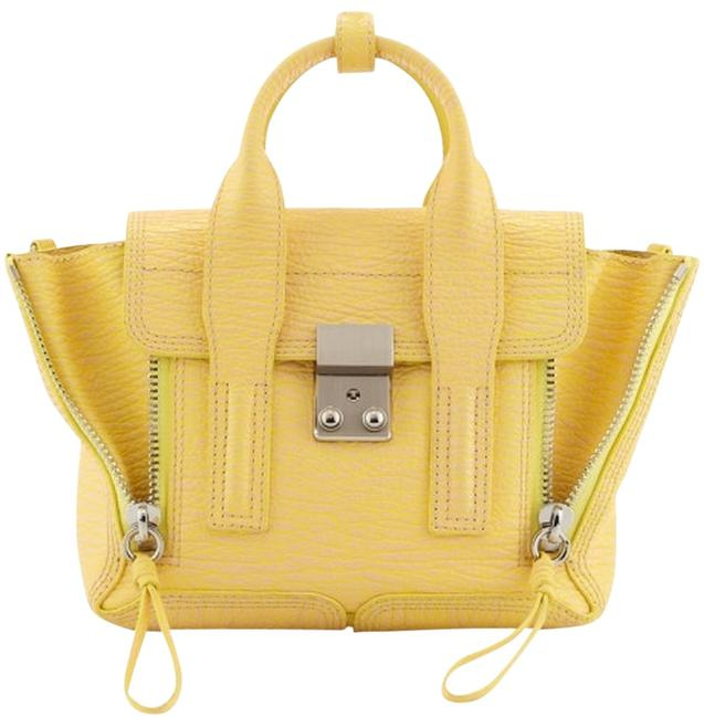 Item - Pashli Medium Yellow Leather Satchel