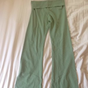 Hard Tail Yoga Activewear Athletic Pants Mint Green
