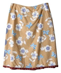 Elisabethan Recycled Skirt Tan