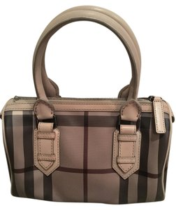 Burberry Handbags Bowling Nova Chester Satchel in Trench Smoked Check