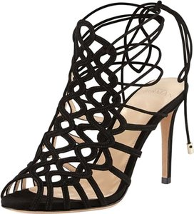 Alexandre Birman Lace Up Sandal Black Pumps