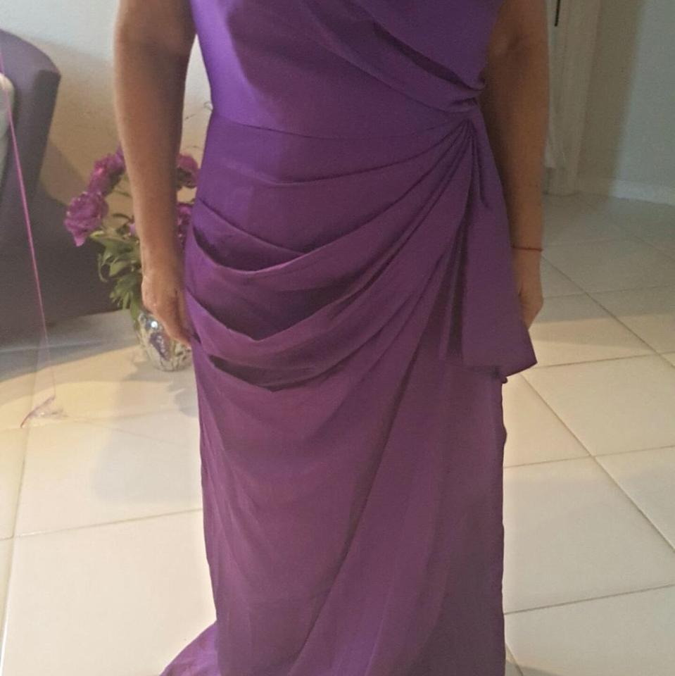 Max and Cleo Purple Formal Long Dress - 52% Off Retail