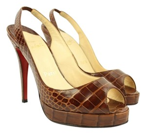 Christian Louboutin Alligator Crocodile Python Pumps