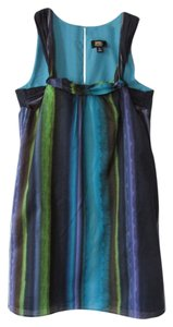 Lori Michaels collection short dress Blue/Green on Tradesy