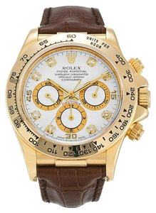 Rolex ROLEX DAYTONA 16518 CUSTOM DIAMOND DIAL MEN'S WATCH