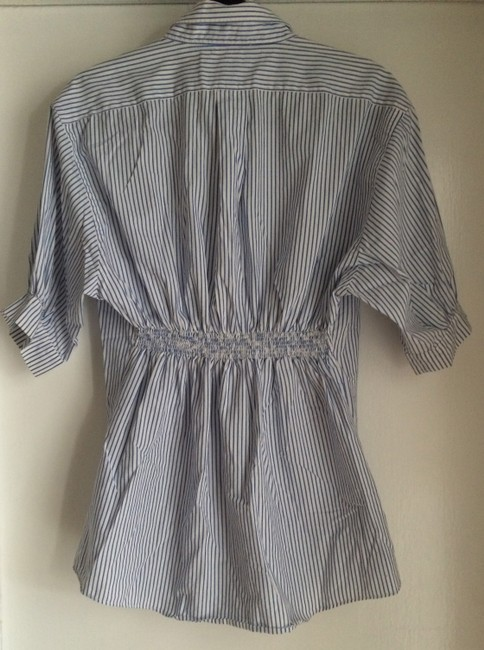 furst of a kind short dress blue and white on Tradesy