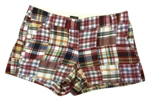 J.Crew Madras Plaid Shorts