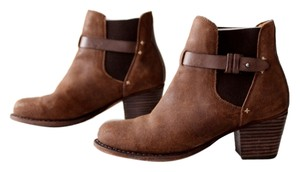Rag & Bone Suede Ankle Brown Boots