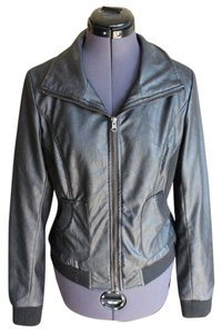 Sparkle & Fade Leather Jacket