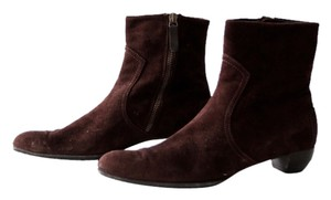 Leggiadro Ankle Suede Brown Boots