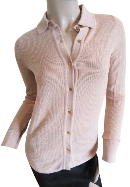 Preload https://img-static.tradesy.com/item/6238672/demylee-beige-cotton-long-sleeve-polo-sweater-button-down-top-size-0-xs-0-0-650-650.jpg