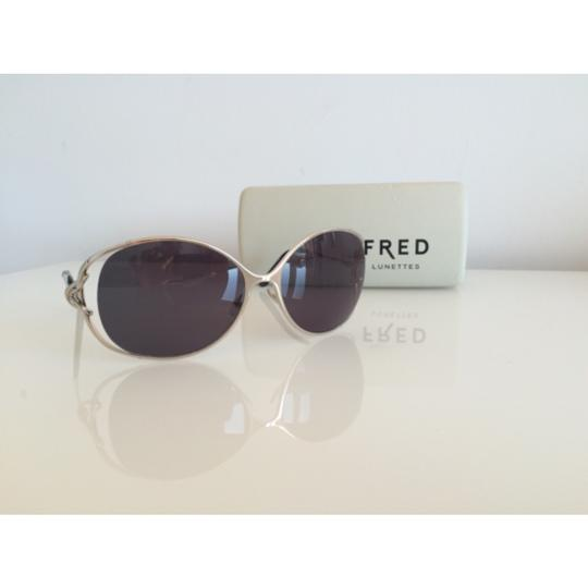FRED FRED LUNETTES VOLUTES LENS GREY, NEW WITH CASE, WITHOUT TAGS