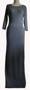 Gray Maxi Dress by Cashmere Cashmere