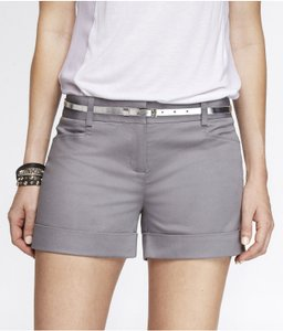 Express Dress Shorts Steel Gray