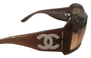 Chanel Double C logo glasses
