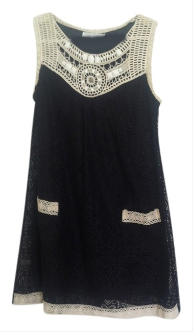 Preload https://img-static.tradesy.com/item/6239770/alan-cherry-black-with-white-trim-and-detail-above-knee-night-out-dress-size-2-xs-0-0-650-650.jpg
